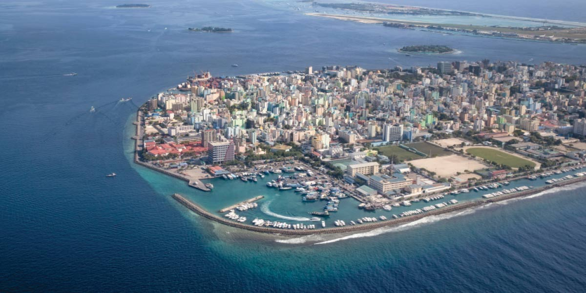 Expanding seawater and melting ice threaten the very existence of many island nations, including the Maldives. As climate change continues, rising sea levels could reshape Earth's coastlines.