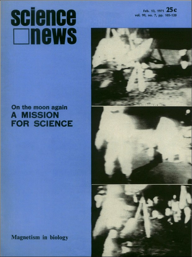 cover of the February 13, 1971 issue