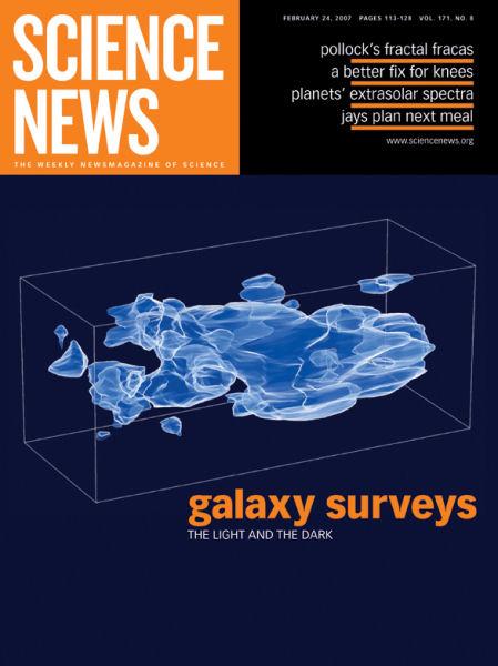 February 24, 2007   Science News