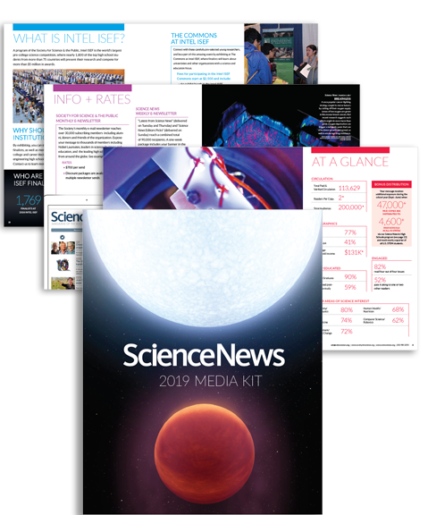 Science News 2019 Media Kit