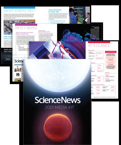 Science News 2019 Media Kit