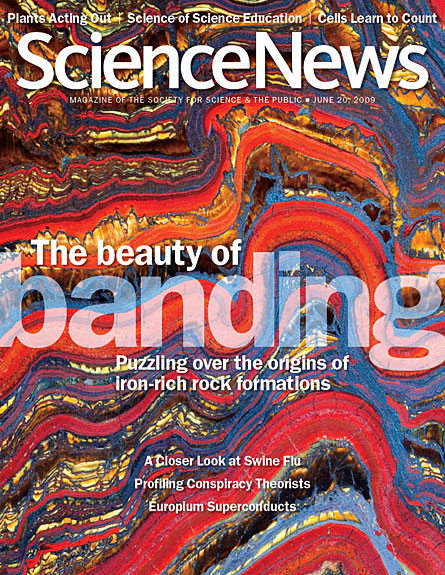 The Beauty of Banding: Puzzling over the origins of iron-rich rock formations