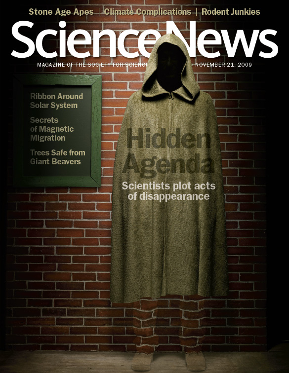Hidden agenda: Scientists plot acts of disappearance