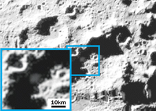 A post-crash plume kicked up from the moon contained vapor and ice. NASA crashed an unmanned spacecraft into the lunar surface on October 9 in order to analyze the resulting debris for signs of water. Image Credit: NASA