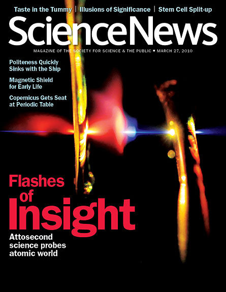 Flashes of insight: Attosecond science probes atomic world