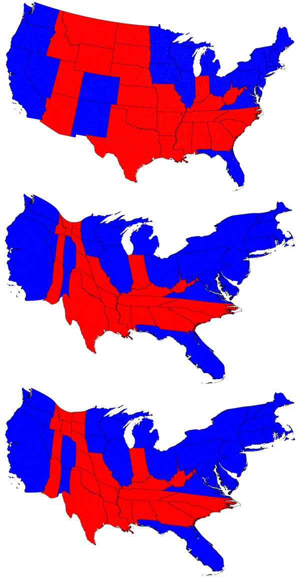 Map Of Red States And Blue. Names Of Red States, Map Of ...