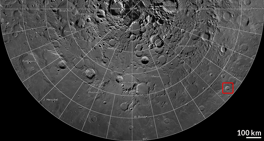 Zoom in on amazing detail in NASA moon map | Science News