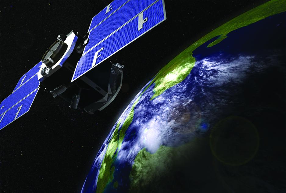 illustration of NASA's CloudSat