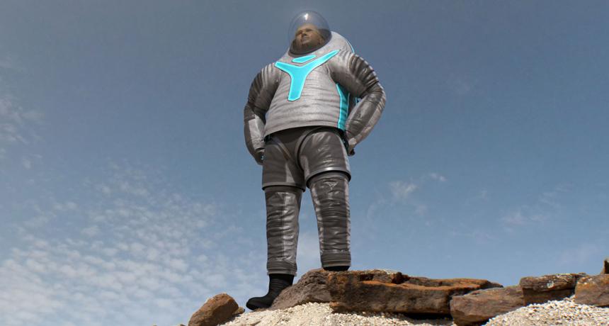 NASA's Z-2 space suit