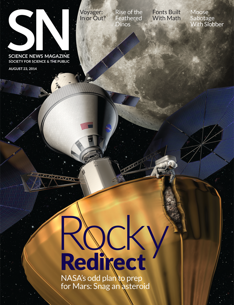 cover of the August 23, 2014 Science News