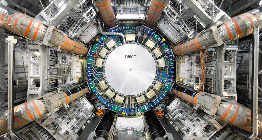 ATLAS detector at Large Hadron Collider