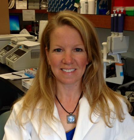Molecular biologist Sarah Anzick