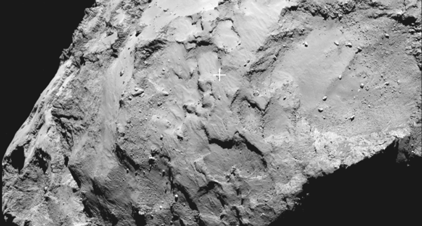 Philae landing site J on comet 67P/Churyumov–Gerasimenko