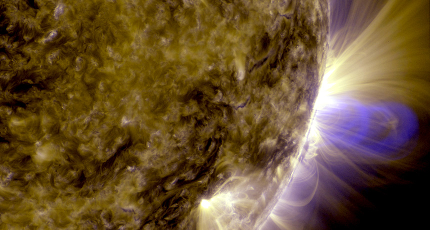 A twist in the sun's magnetic field