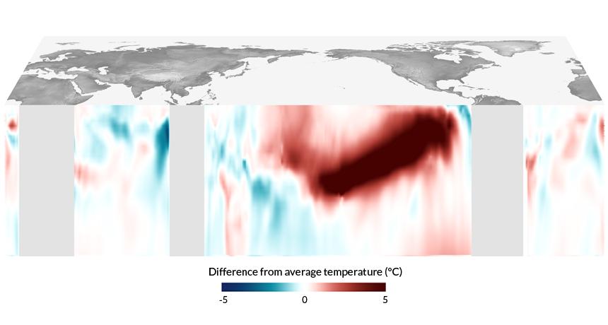 map explaining no 2014 El Niño