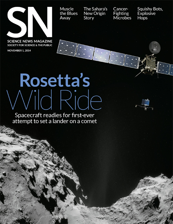 cover of November 1, 2014 issue