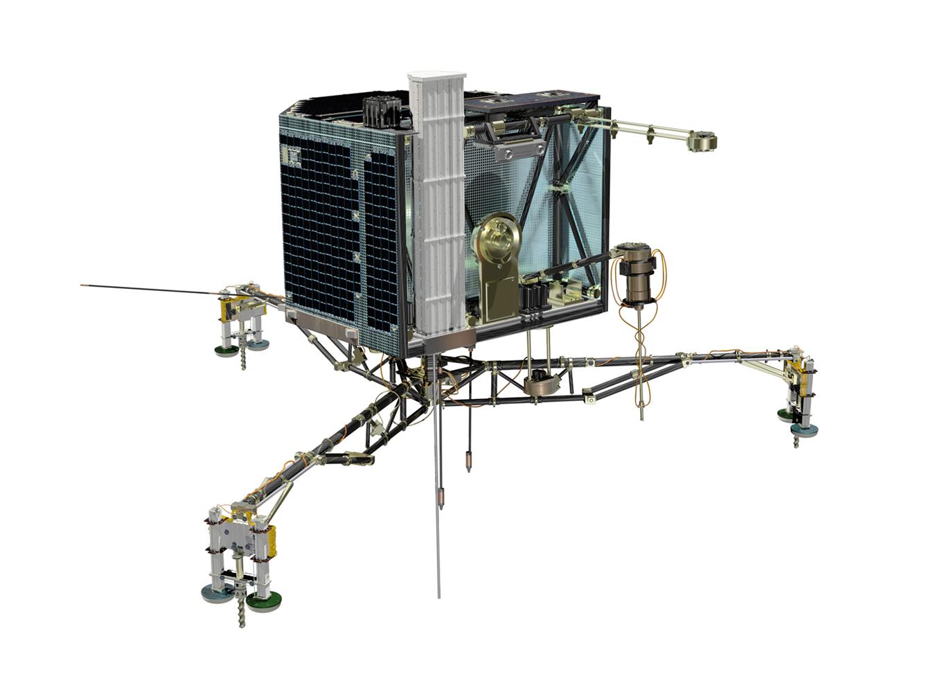 illustration of lander Philae