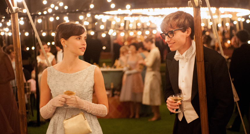 A still from the movie 'The Theory of Everything'