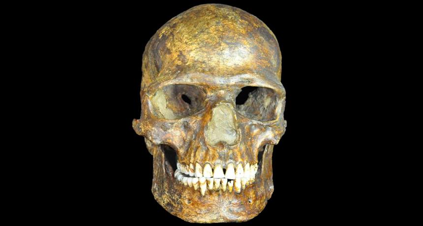 Kostenki skeleton