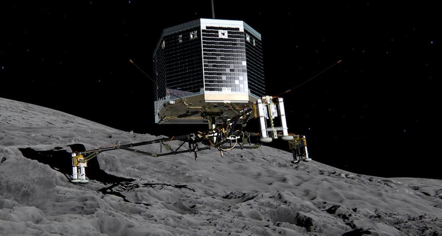Philae lander illustration