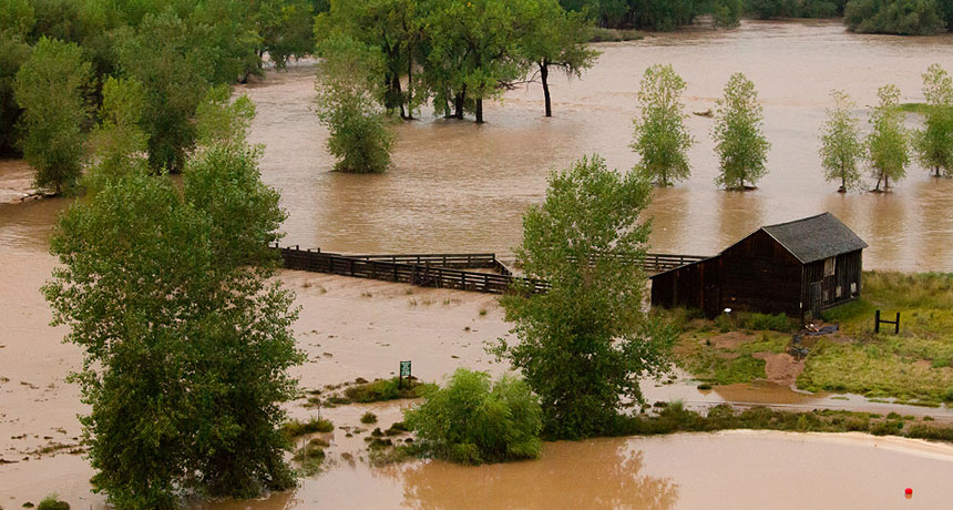 A 2013 Colorado flood