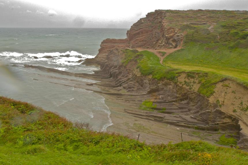 cliffs in Spain