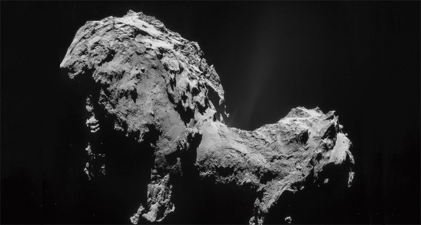 comet 67P/Churyumov Gerasimenko