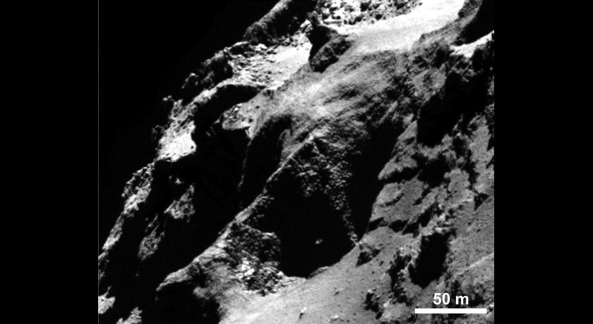 Comet 67P goosebumps