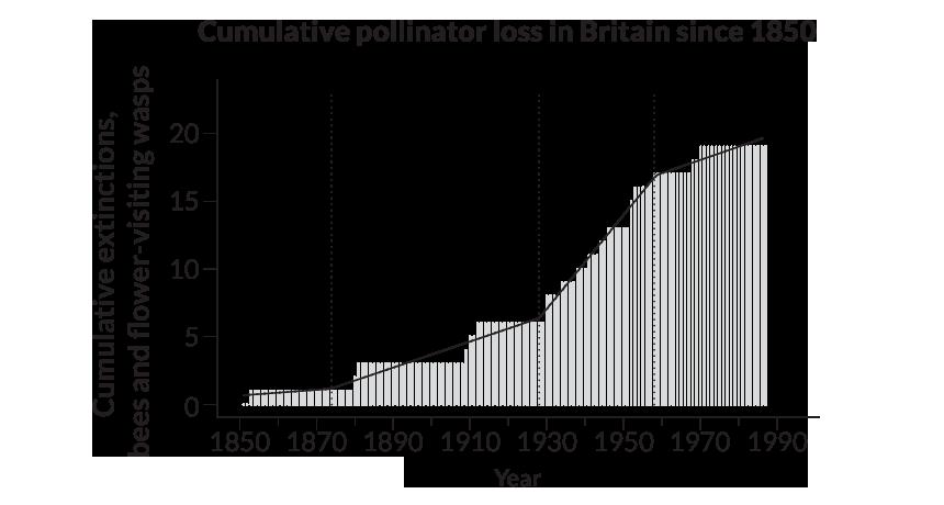 graph on decline