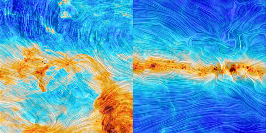 Polarized light in the Milky Way