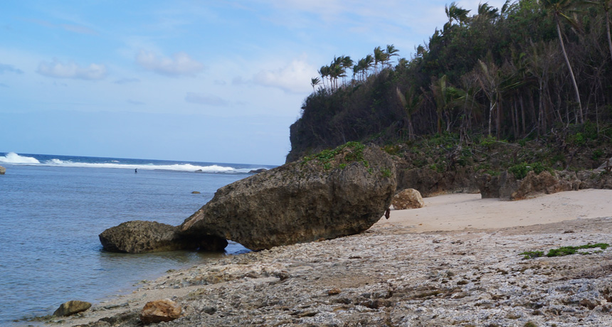 giant boulder