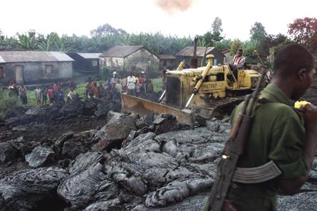 rebuilding in Goma