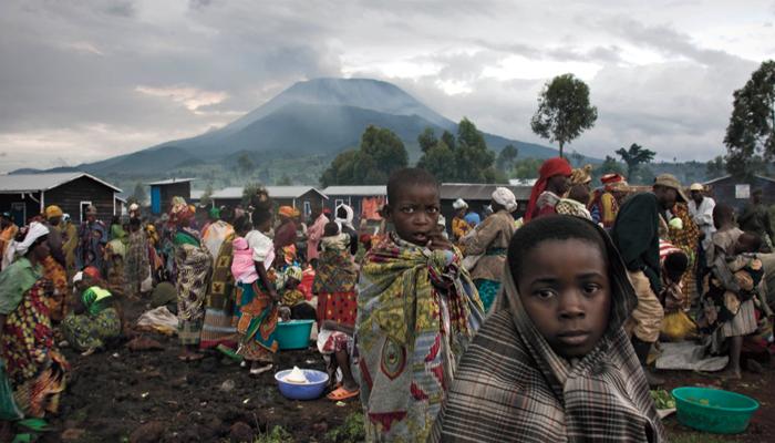 refugees fleeing Rwanda to Goma