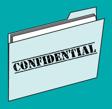 confidential file cartoon