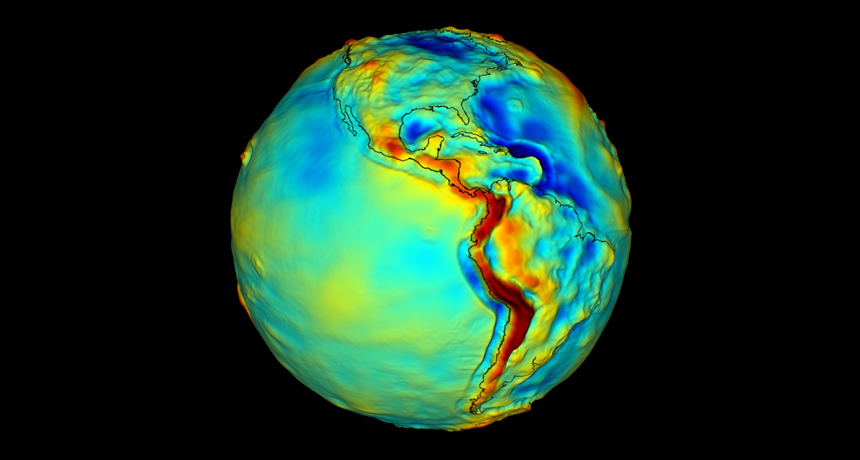 Geoid visualization