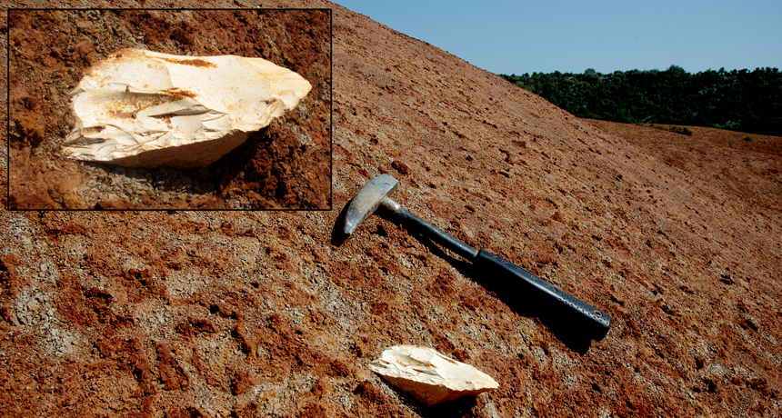 Stone tool in Greece
