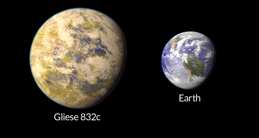 Super Earth vs. Earth