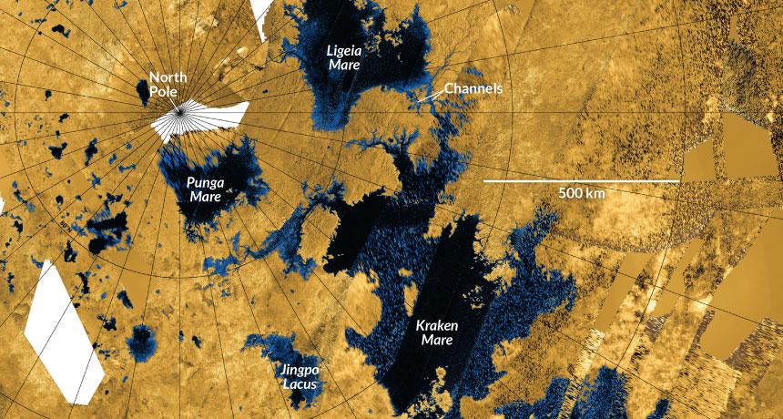 Titan oceans
