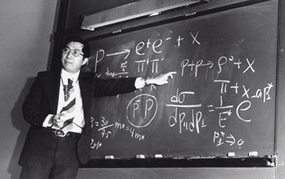 Sam Ting in 1974