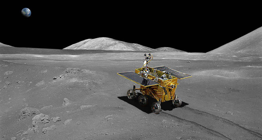Chinese lunar rover