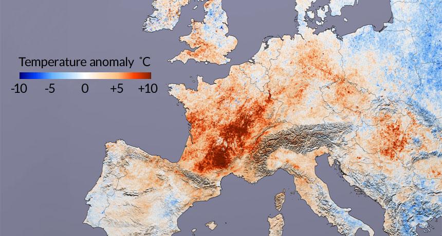 warming map
