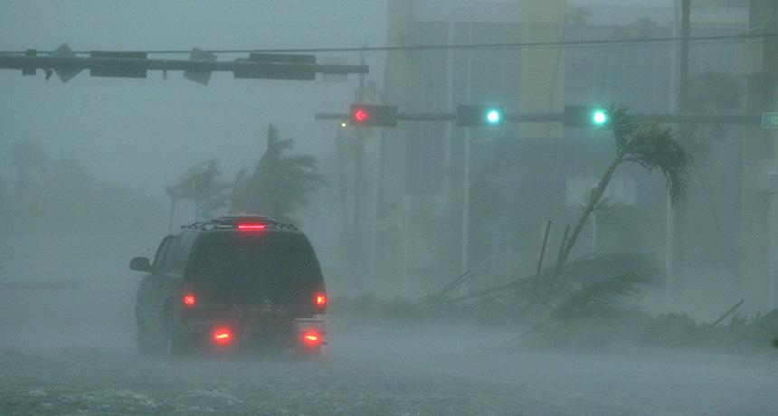 Hurrican Wilma in Florida