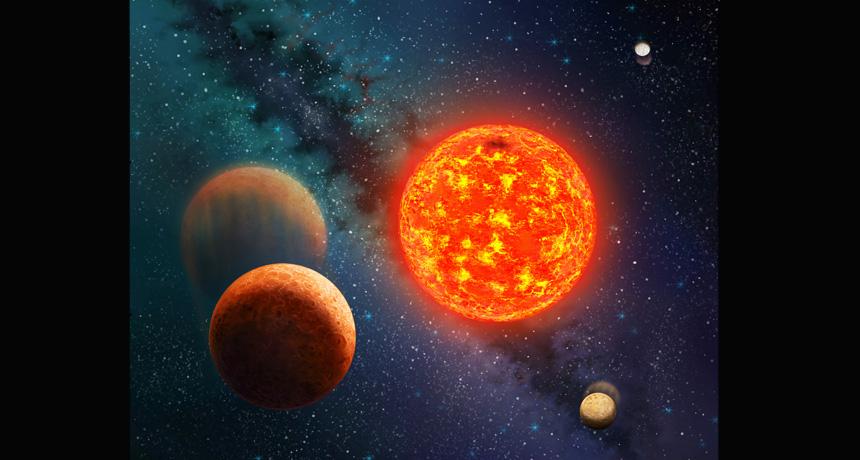 Kepler 138 system
