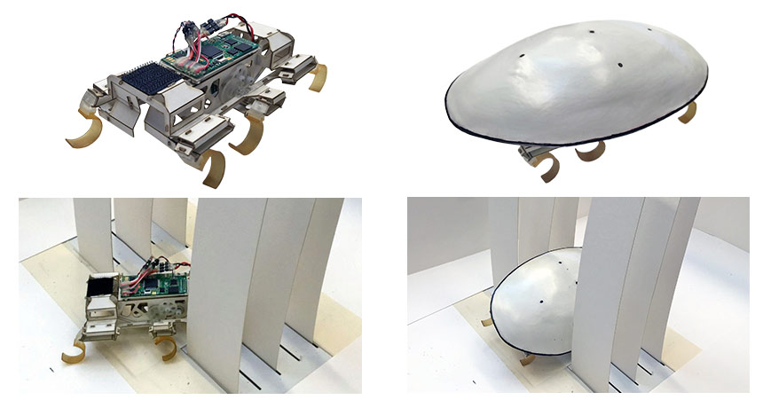 cockroach-inspired robot