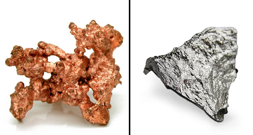 copper and manganese