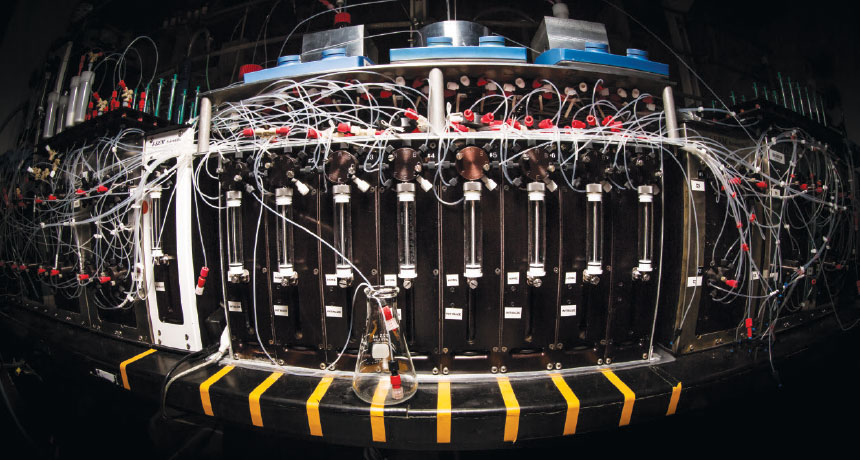 Automated chemistry apparatus