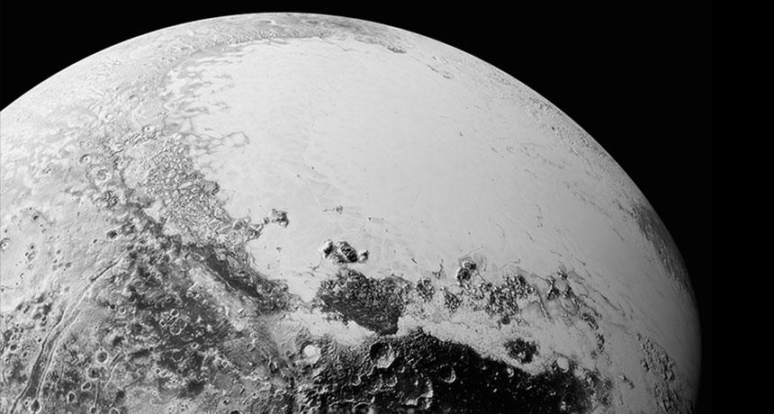 Pluto's heart in September 2015