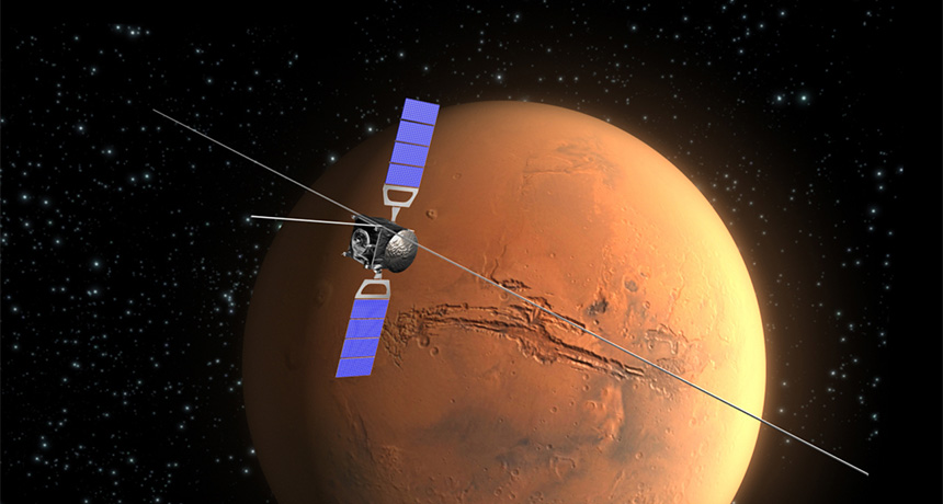 Mars Express illustration