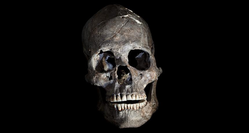 oldest skull