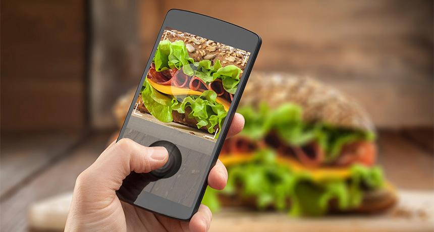 phone food app